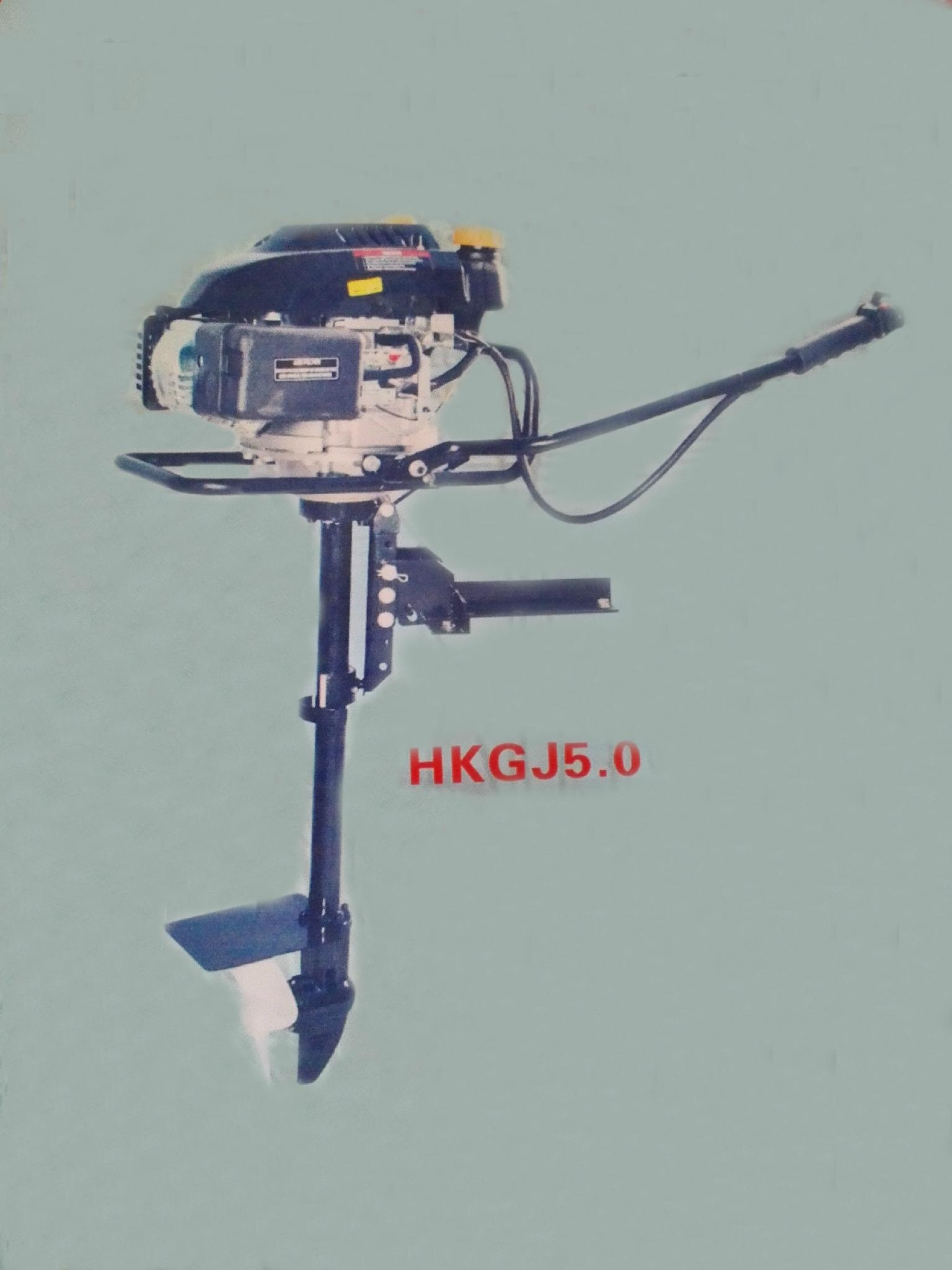 electric /gasoline outboard motor 8