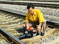 Railway maintenance Torque adjustable internal combustion bolt wrench NLB-1200 9