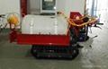 Crawler self-propelled sprayer