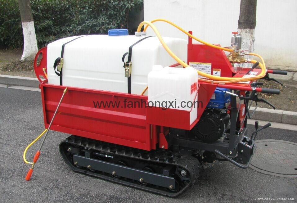 果园园林喷雾机 履带自走式喷雾机适合丘陵山地喷雾机 1