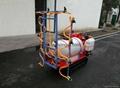 Self-propelled boom sprayer
