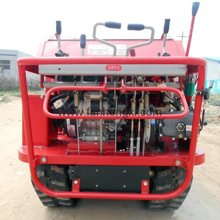 self propelled type air conveying power sprayer