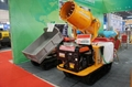 crawler truck dumper with lift container
