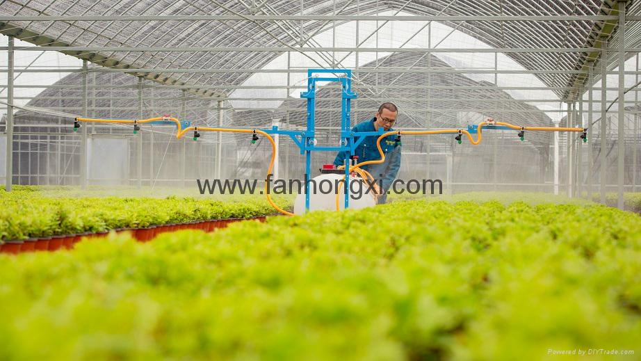 Self-propelled boom sprayer 2