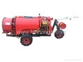 200L wind send pull type  orchard sprayer