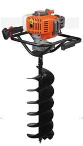 園林種植專用打洞機 高效率松土施肥器 螺旋杆鑽頭移栽機 1