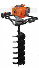 園林種植專用打洞機 高效率松土施肥器 螺旋杆鑽頭移栽機