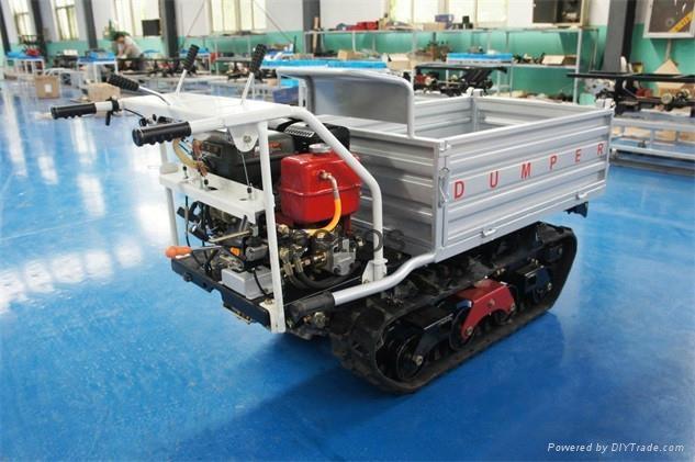 履帶式自卸搬運車 1