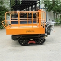 Crawler type dumper with lift container, Hydraulic Scissor lifter 11