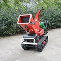 Self-propelled crawler branch trimmer& crusher&lbranch crusher 3
