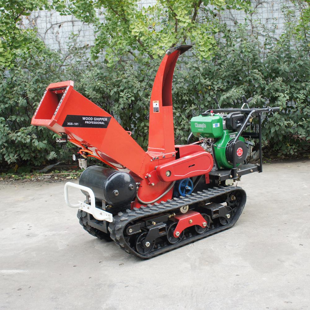 Self-propelled crawler branch trimmer& crusher&lbranch crusher 4