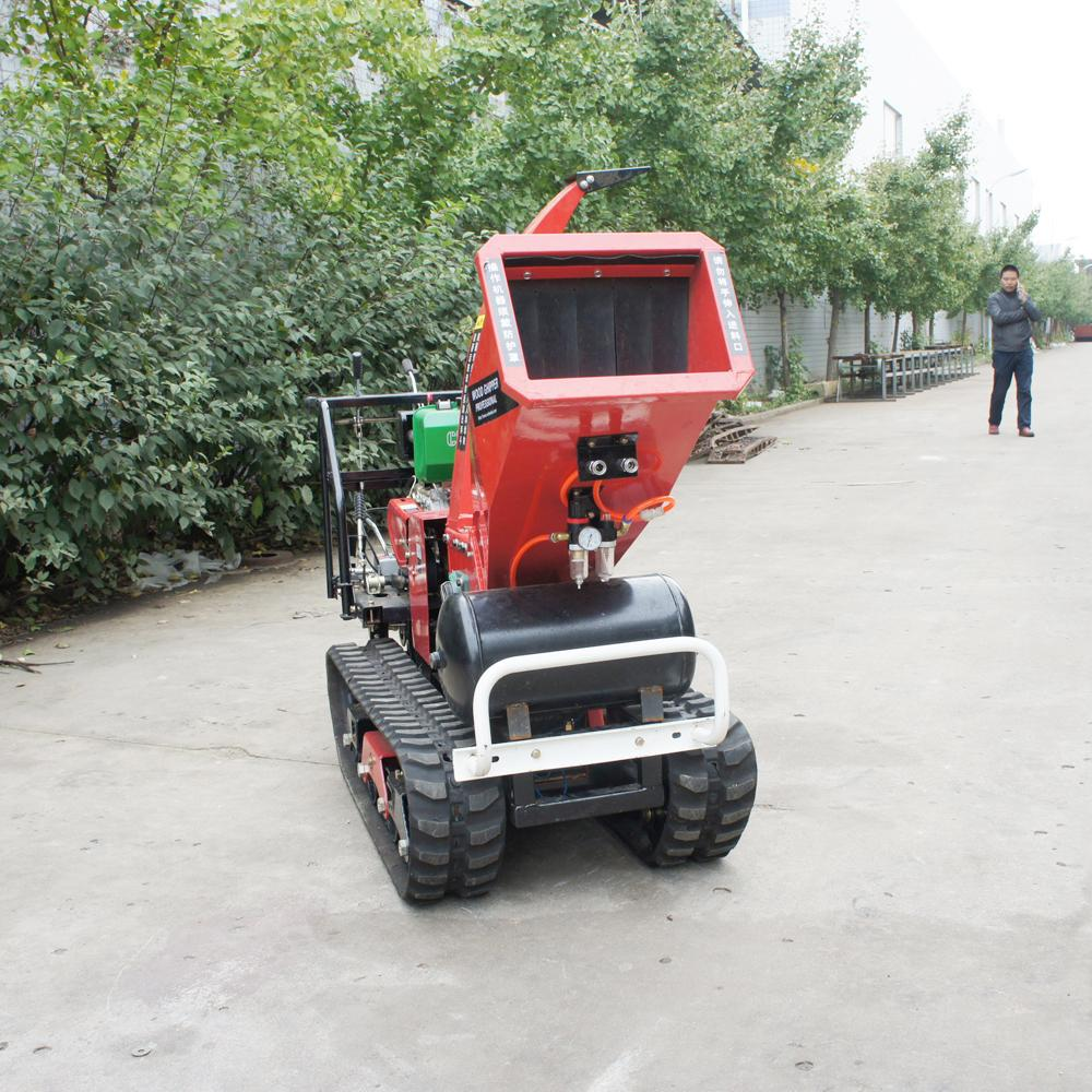 Self-propelled crawler branch trimmer& crusher&lbranch crusher 5