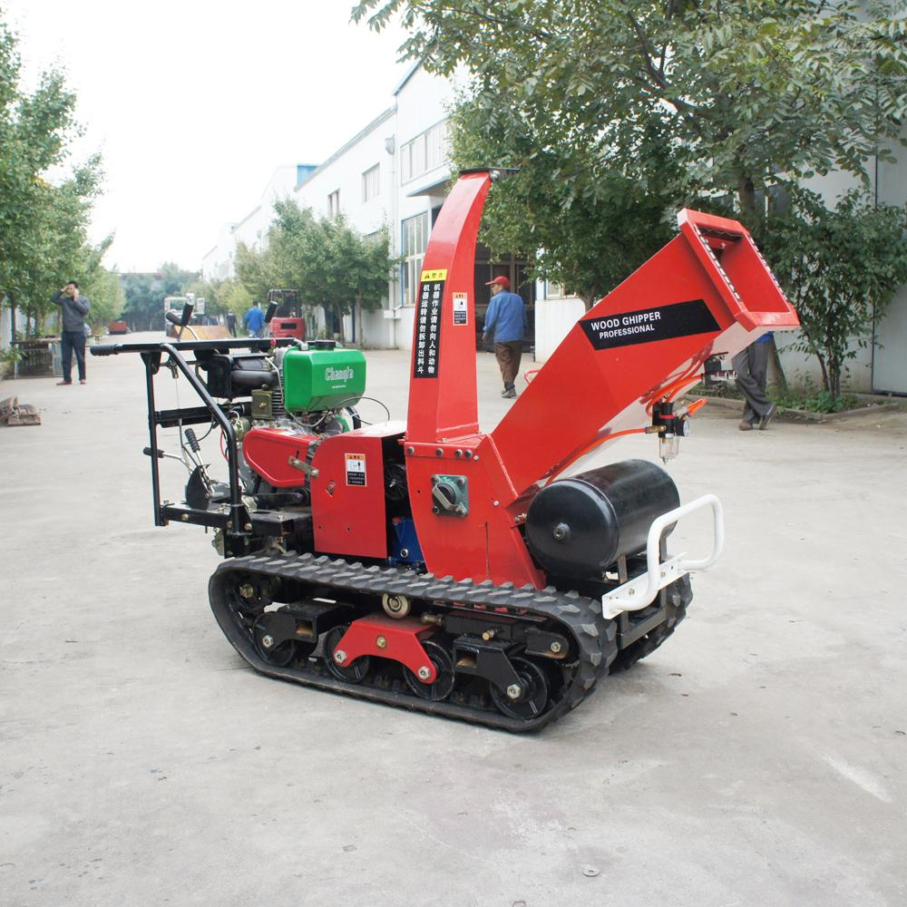 Self-propelled crawler branch trimmer& crusher&lbranch crusher 6