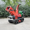 Self-propelled crawler branch trimmer& crusher&lbranch crusher 8