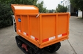heavy-duty diesel engine crawler truck dumper  7