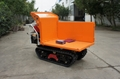 heavy-duty diesel engine crawler truck dumper