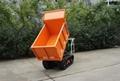 重型柴油动力自卸式搬运车 4