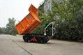 heavy-duty diesel engine crawler truck dumper  5