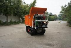 heavy-duty diesel engine crawler truck dumper