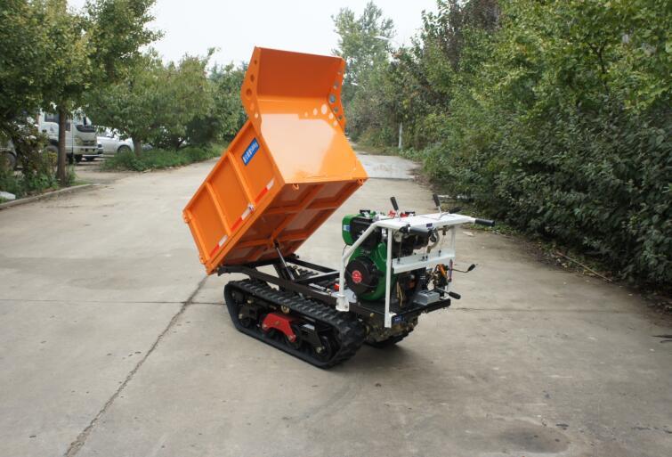 heavy-duty diesel engine crawler truck dumper  2