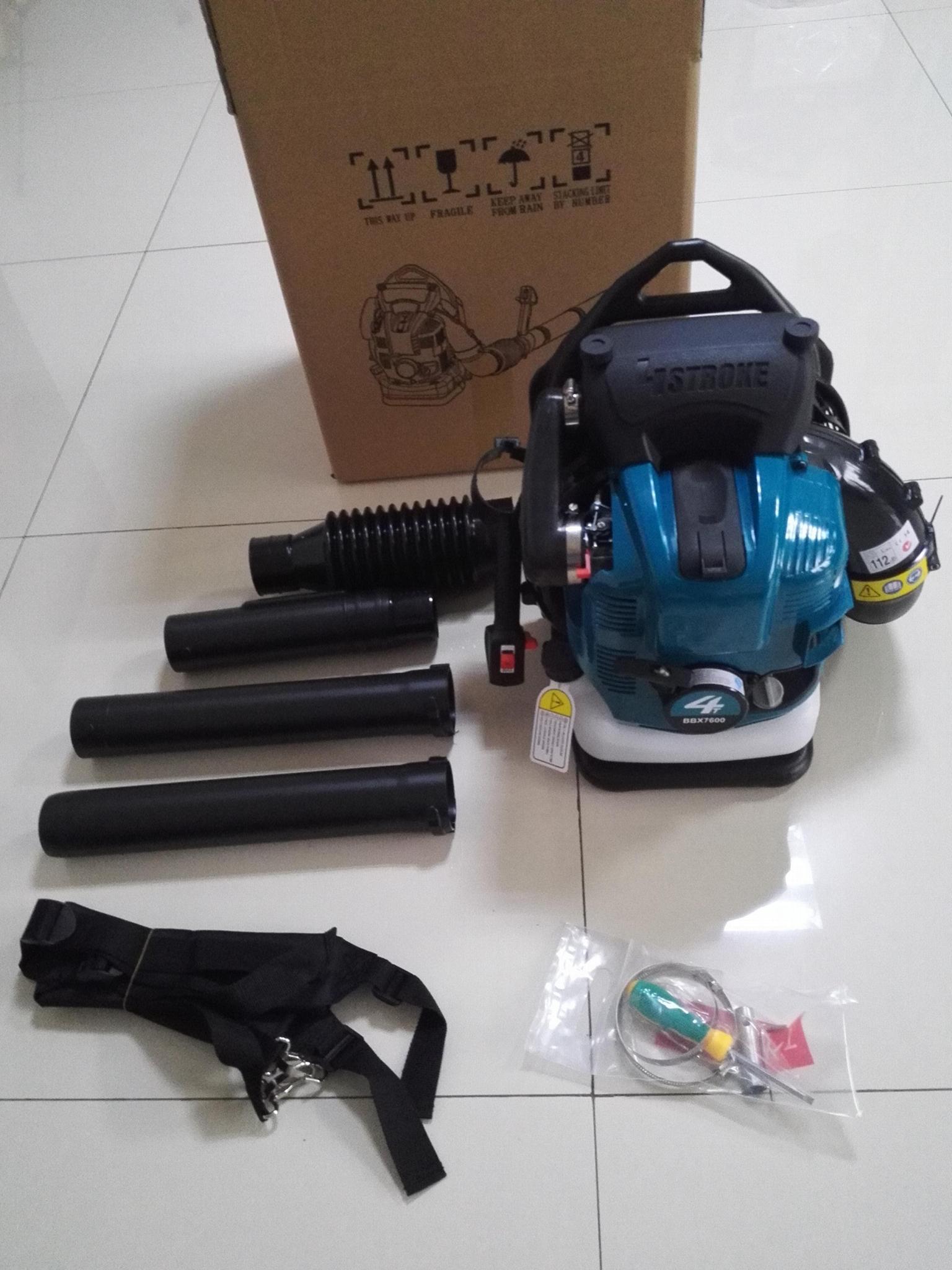 4-stroke  Back-pack gasoline blower BBX7600 5