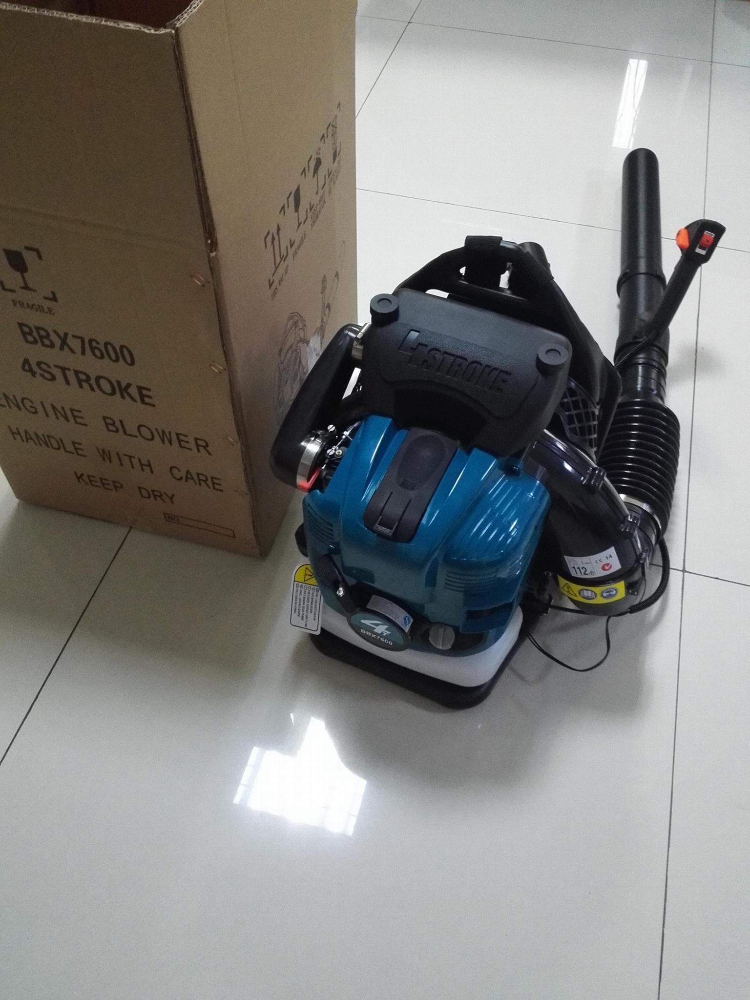 large wind 4-stroke  Back-pack gasoline blower BBX7600 3