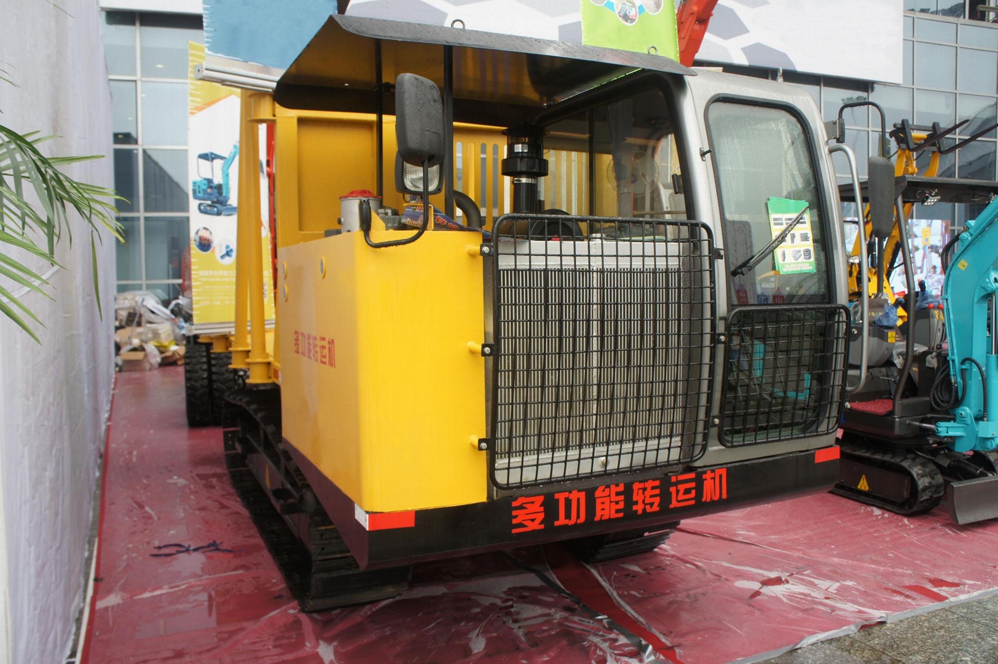 Multi-function Machine Running/dump truck