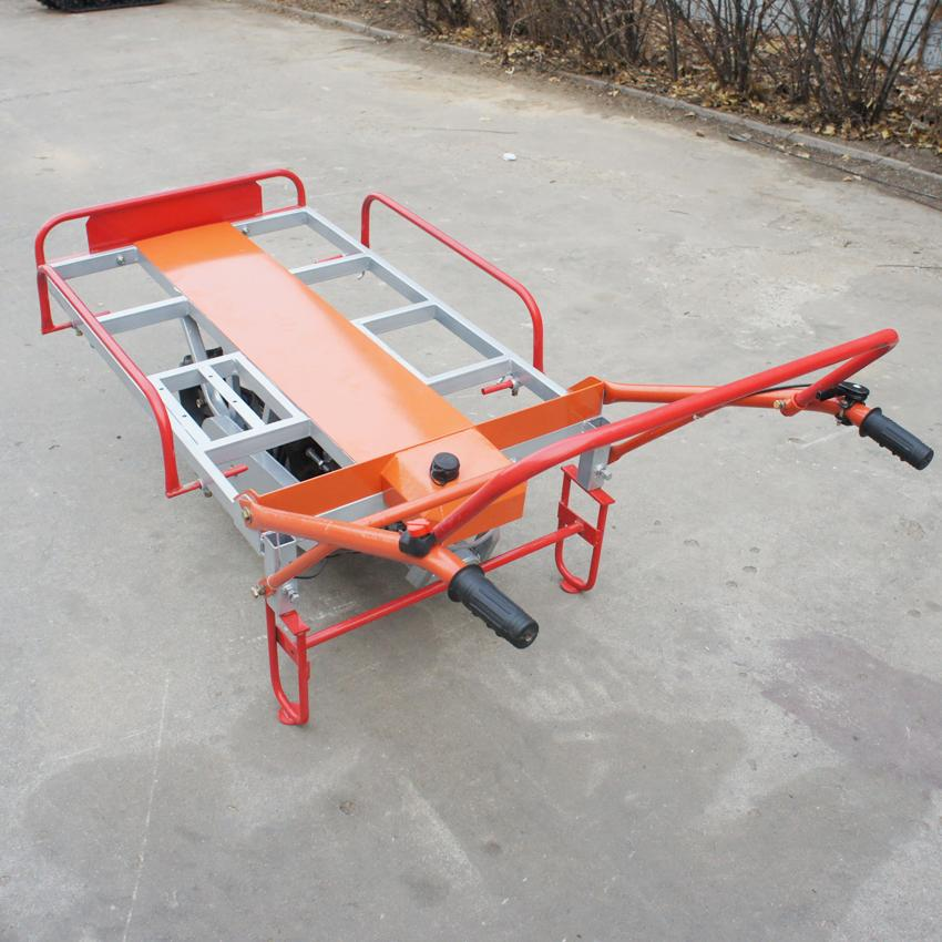 單履帶機動手扶搬運車 3