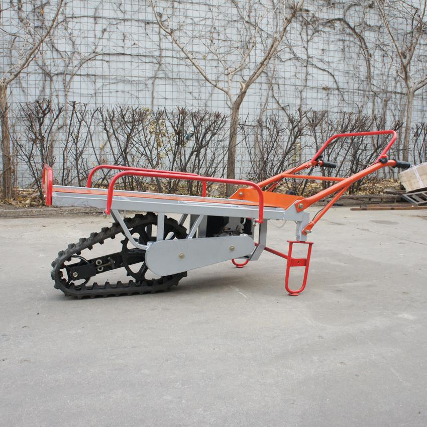 Motor barrow with single pedrail SH-80 7