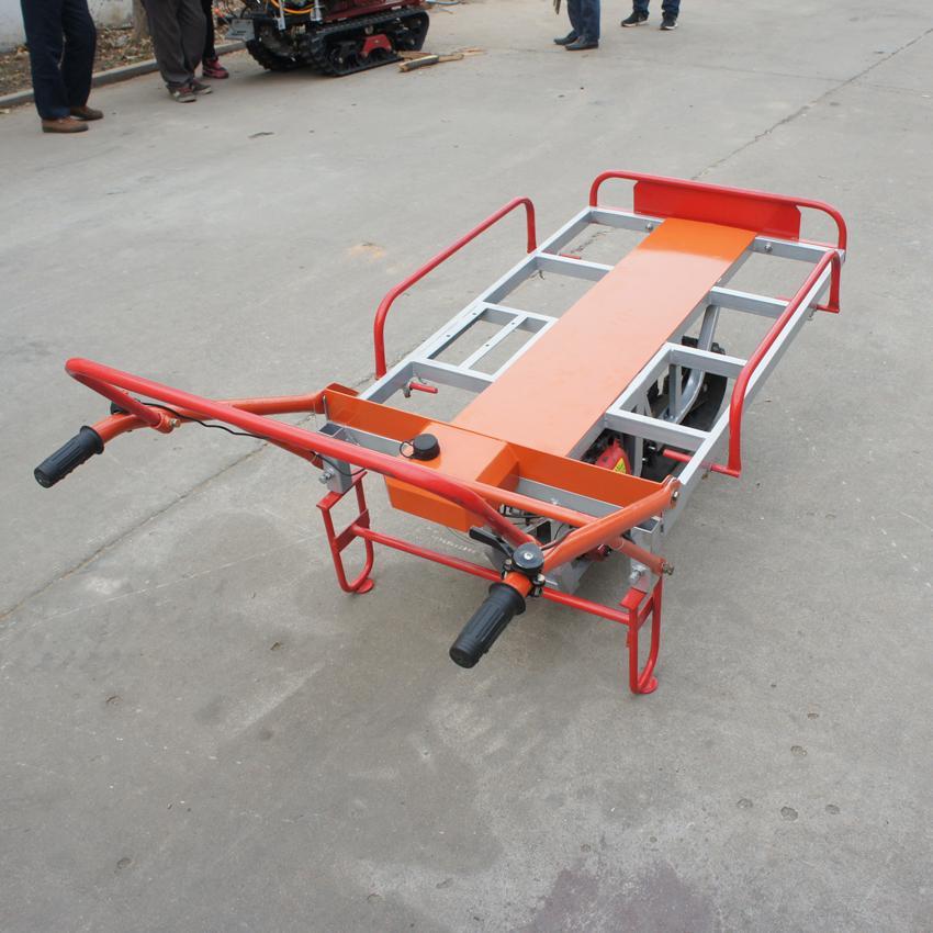 單履帶機動手扶搬運車 1