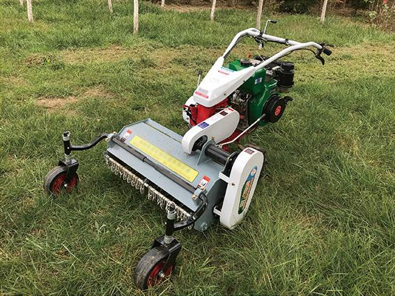 high speed rotating type lawn mower /  rotary weeder 1