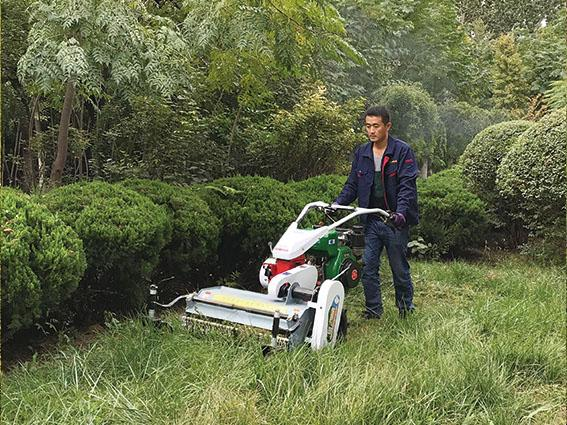 high speed rotating type lawn mower /  rotary weeder 2