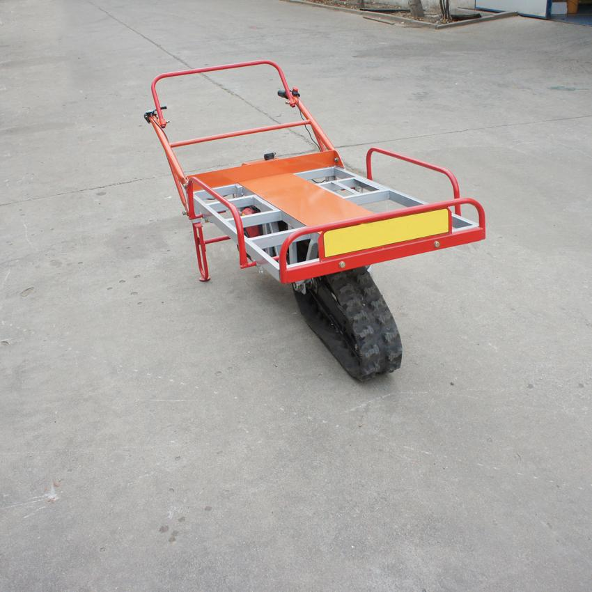 單履帶機動手扶搬運車 5