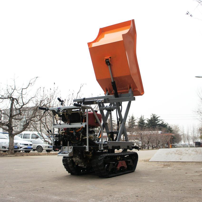 履帶自卸式升舉搬運車 4