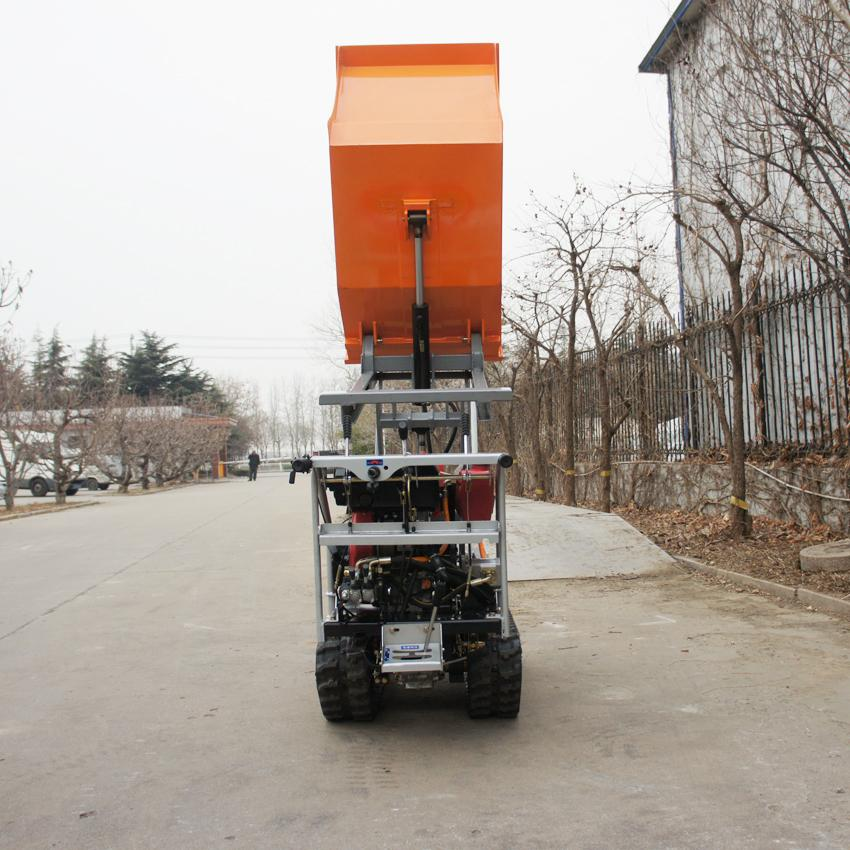 Crawler type dumper with lift container, Hydraulic Scissor lifter 10
