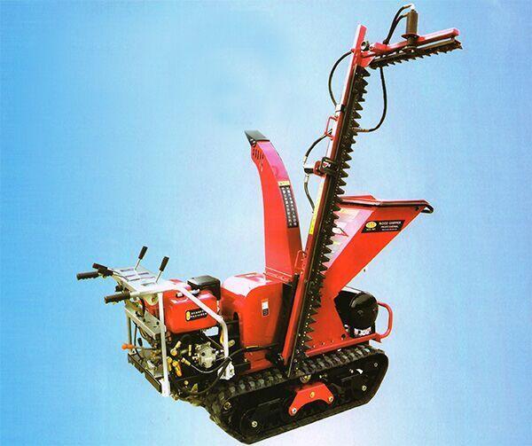 履带自走式树枝修剪粉碎修剪机/劈木机 2
