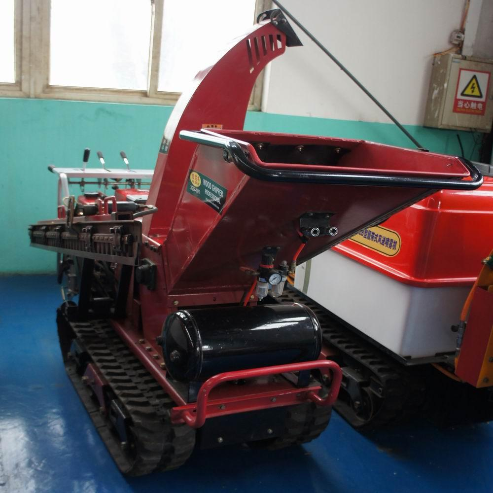 Self-propelled crawler branch trimmer& crusher&lbranch crusher 9