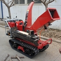 Self-propelled crawler branch trimmer& crusher&lbranch crusher
