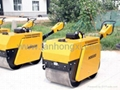 Construction-road roller
