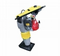 Construction-tamping rammer