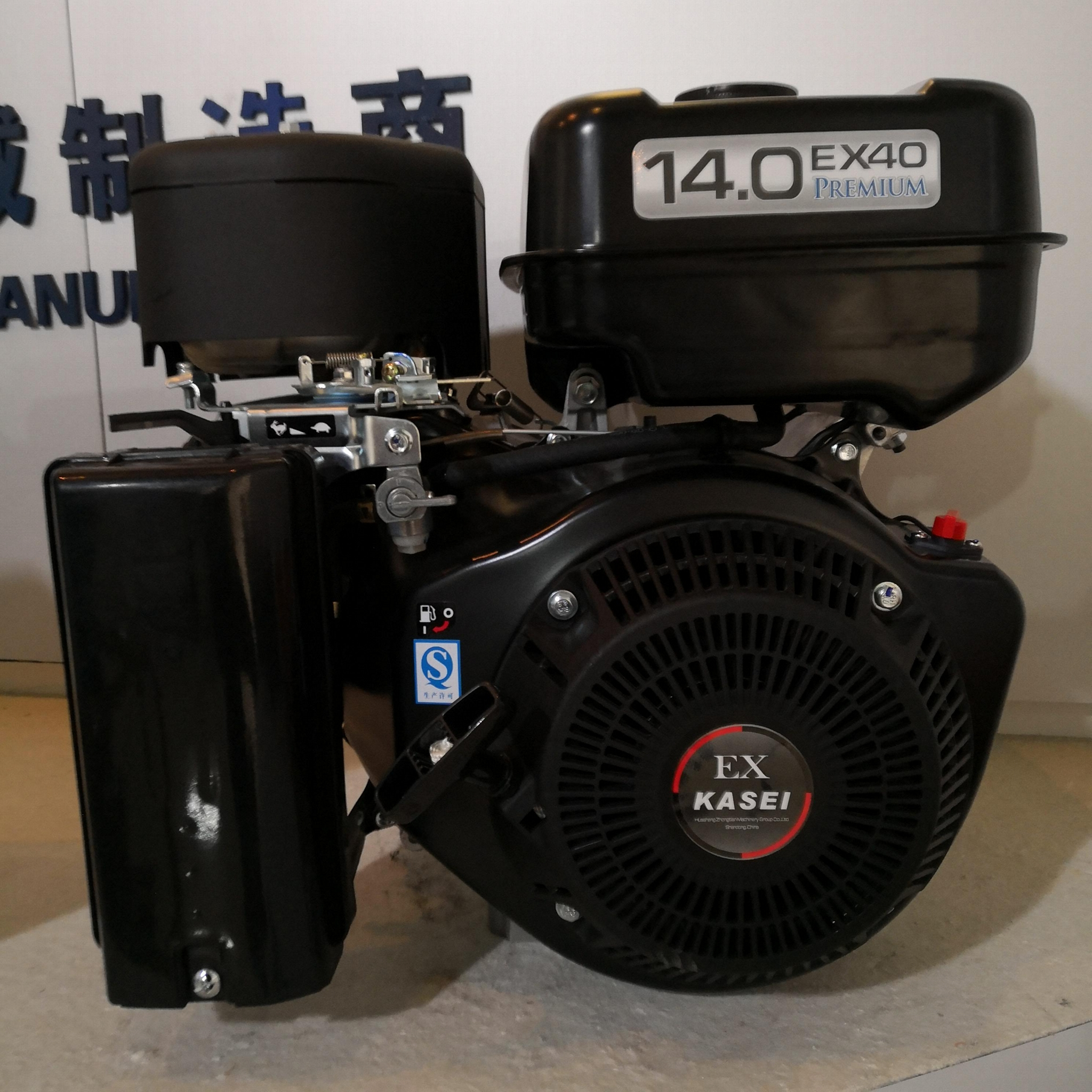 Four-stroke Air-cooled 14HP GASOLINE ENGINE 3