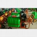 Hand-push high-pressure pump sprayer