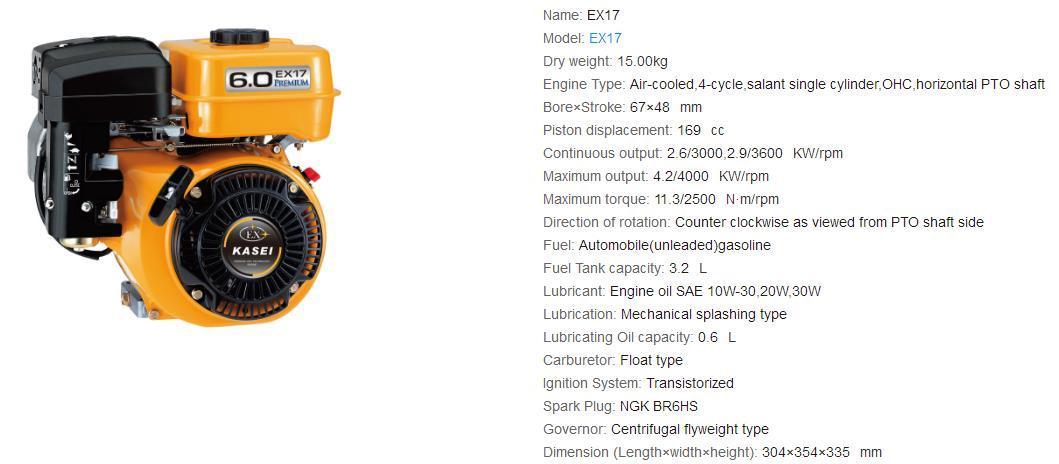 EX17 斯巴魯汽油機配件 6