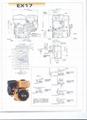 SPARE PARTS OF EX17 SUBARU GASOLINE ENGINE   7