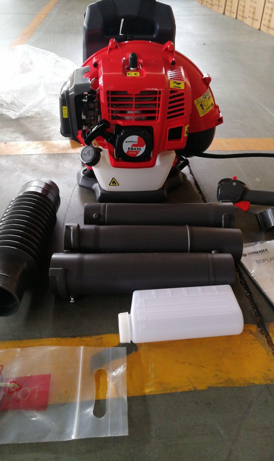 二冲程,背负式汽油吹风机EB430 4