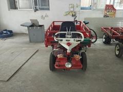 轮胎式爬山虎/多功能打药搬运田园管理机/小型载重0.5吨翻斗车