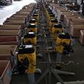 Factory Supply portable 2 stroke gas engine railway ballast ND40II Wacker Tamper 14