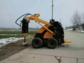 Mini skid steer loader JL300 (gas engine 23HP)