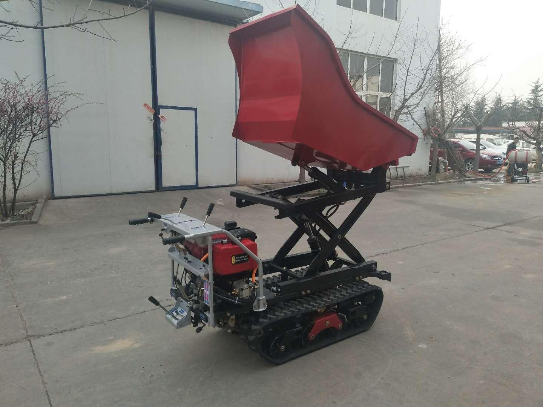 履帶自卸式升舉搬運車 3