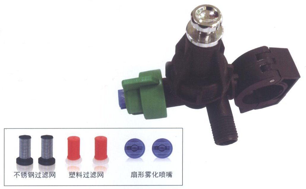 噴霧機配件防滴型噴頭體 11